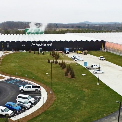 AppHarvest Entrance_Drone Jan2021